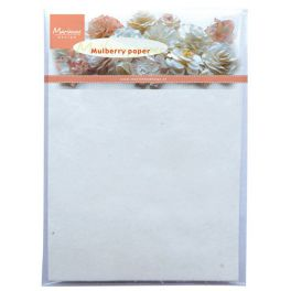 Marianne D Decoration Mulberry paper white