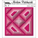 Crealies Modern Patchwork no. 4 Quadrat CLMP04