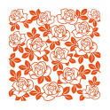 Marianne D Embossing folder Roses DF3423 (New 01-16)