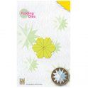 Nellies Choice Rosette Folding Die - Weihnachtskugel Stern medium NFD017