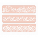 Sizzix Text. Impr. Emb. Folder - Border set 661884 David Tutera