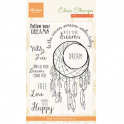 Marianne D Stempel Dreamcatcher sentiments (EN) CS0989 10,5x18,5cm