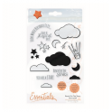 Tonic Studios - reach for the stars clearstamp shaker set 1658e