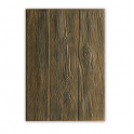 Sizzix 3-D Embossing Folder - Wood Planks 662718 Tim Holtz