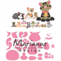 Marianne D Collectable Eline`s kitten COL1454 118x91 mm