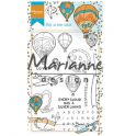Marianne D Clear Stempel Hetty`s border Sky is the limit HT1634 95x140mm