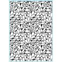 Elizabeth Craft Design Embossing Folder swirly Kurven runden Muster 10,8X14CM