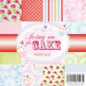Wild Rose Studio`s 6x6 Paper Pack Icing on the cake a 36 VL