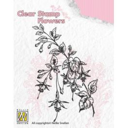 Nellies Choice Clear Stempel - Fuchsia