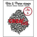 Crealies Clearstamp Bits&Pieces no. 06 Bubbles