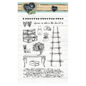 Studio Light Clearstempel A6 Love & Home 124 STAMPLH124 (new 01-16)