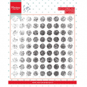 Marianne D Stempel Tiny`s background Distressed dots CS0977