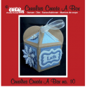 Crealies Create A Box no. 10 Fantasy Box 8,5 x 15,8 cm / CCAB10