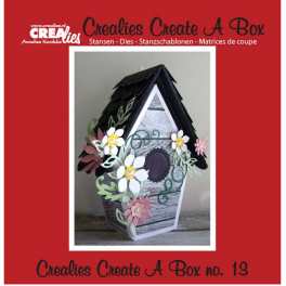 Crealies Create A Box no. 13 Voliere 13,4 x 18,4 cm / CCAB13
