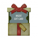 Sizzix Thinlits Die - Gift Card Package 662417 Tim Holtz