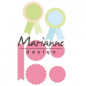 Marianne D Collectable Rosettes & labels COL1444