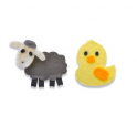 Sizzix Bigz Die - Sweet Spring Animals 662633