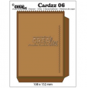 Crealies Cardzz no 6 bag card CLCZ 06 108x15mm