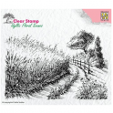 Nellie´s Choice Nellie`s Choice Clear Stamps idyllic floral Kornfeld-Straße IFS005 140x95mm