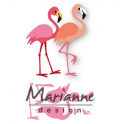 Marianne D Collectable Eline`s flamingo COL1456 75x53mm