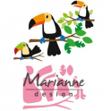 Marianne D Collectable Eline`s Tukan COL1457 83x73mm