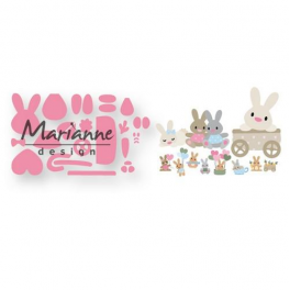 Marianne D Collectable Eline`s Baby Hase COL1463 15x21 cm