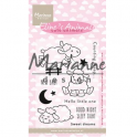 Marianne D Clear stamp Eline`s Cute Animals - Schafe EC0175 18x10 cm