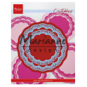 Marianne D Creatable Doily duo LR0592 105x105mm