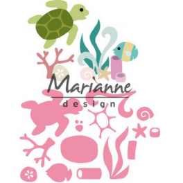 Marianne D Collectable Sealife by Marleen COL1468 108x85,5 mm