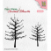 Nellies Choice Christmas Silhouette Clear stamps Bäume ohne Blätter