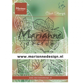 Marianne D Clear Stamps Tiny's bladeren set TC0876 133x51,5mm