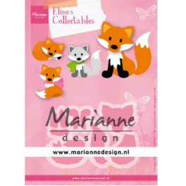 Marianne D Collectable Eline's Fuchs COL1474 99x68 mm