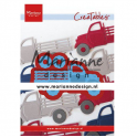 Marianne D Creatable Pick-up truck LR0641 81.5x38 mm