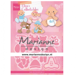 Marianne D Collectable Eline's baby's COL1479 112x97,5mm